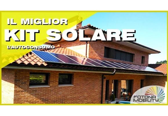 Acquista il Miglior Kit Solare Fotovoltaico per L'autoconsumo