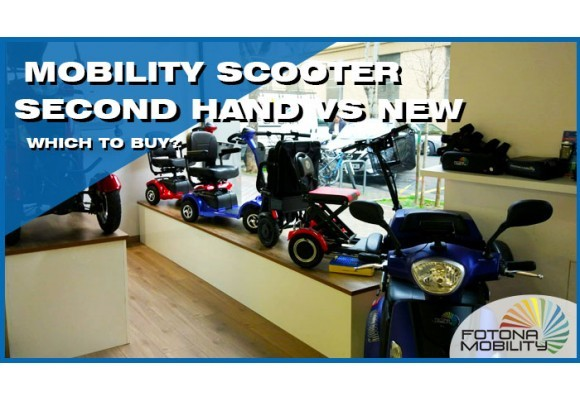 Used Mobility Scooters or New Mobility Scooters