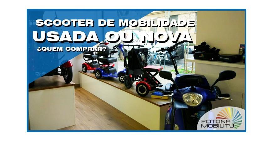 Scooter de Mobilidade Usada ou Nova