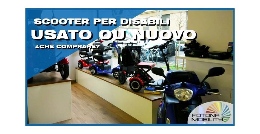 Scooter Elettrico per Disabili Usato o Scooter per Disabili Nuovo